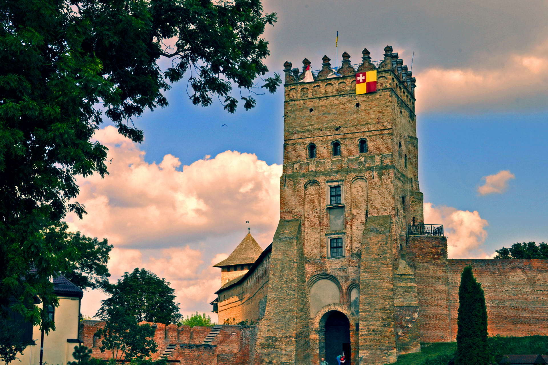 Замок Любарта, фото