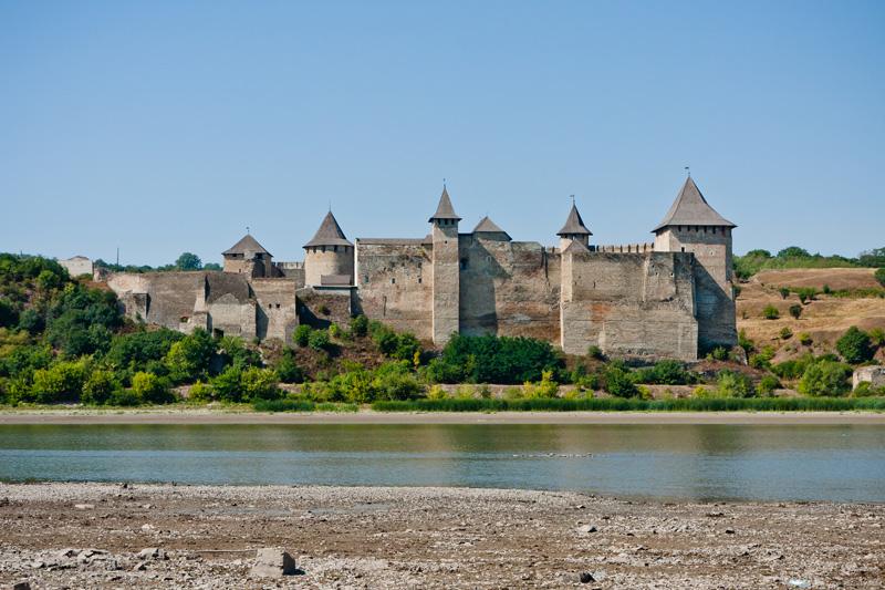 Хотинська фортеця, фото