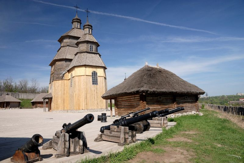 Запорізька Січ - музейний комплекс українського козацтва на о. Хортиця